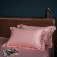 【官方旗舰店】60支长绒棉枕套枕芯枕头套一对装纯棉枕罩双人全棉情侣床上用品 48cmX74cm