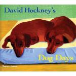 【预订】David Hockney's Dog Days