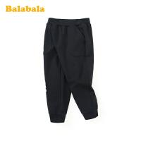 巴拉巴拉儿童裤子女童长裤春季2020新款休闲小童宝宝运动裤束脚裤