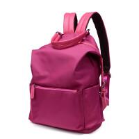 女士双肩包牛津布旅行背包尼龙大容量休闲时尚帆布包学生书包