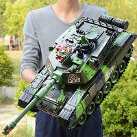 超大号遥控坦克亲子对战可发射充电动儿童越野玩具履带式男孩汽车
