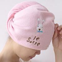 创意家居 可爱卡通兔子 吸水干发帽