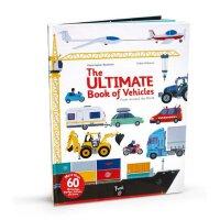The Ultimate Book of Vehicles: From Around the World车辆 儿童翻翻书 英文原版操作书