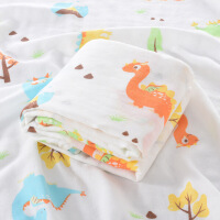 【家装节 夏季狂欢】婴儿浴巾夏季薄款宝宝纱布空调被两层纯棉竹纤维新生儿童盖毯盖被