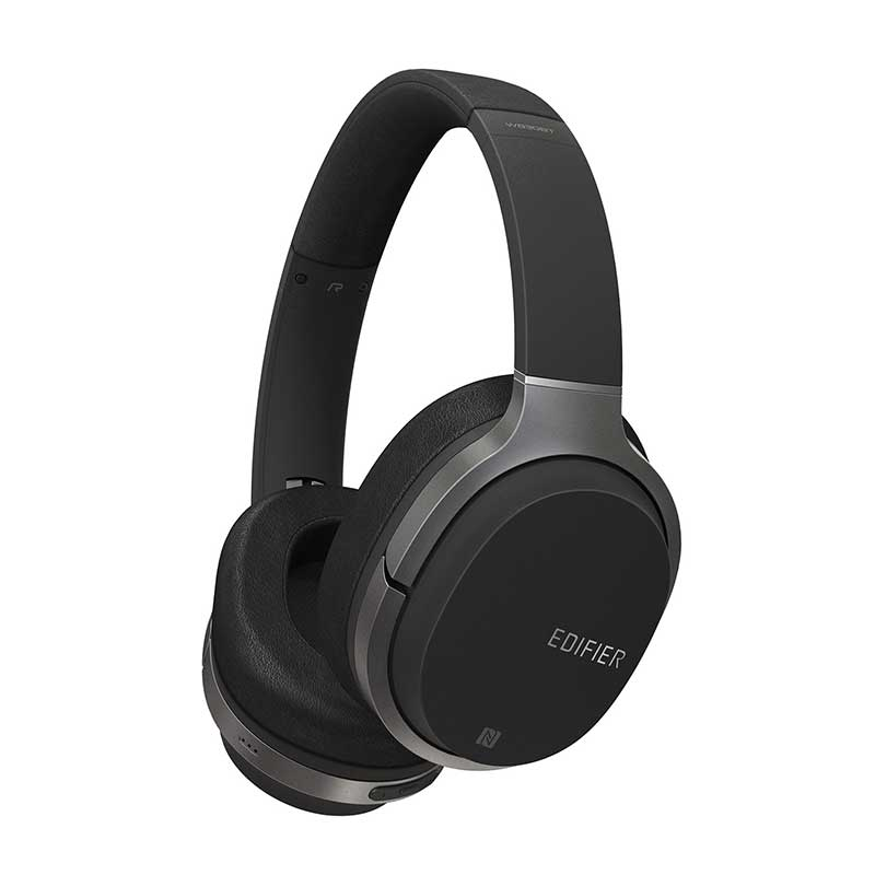 Edifier 漫步者 W830BT 立体声头戴式蓝牙耳机 黑色立体声头戴式蓝牙耳机黑白两色