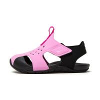 【1件4折】耐克(Nike)童鞋 Sunray Protect儿童包头沙滩鞋凉鞋