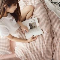 君别水洗棉被套单件 1.5米8x2.0米单人床单被罩单套两件套