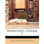【预订】Rendiconti, Volume 7 9781148449838