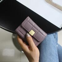 韩版甜美风琴卡包女式卡夹迷你压花软多卡位零钱包女潮