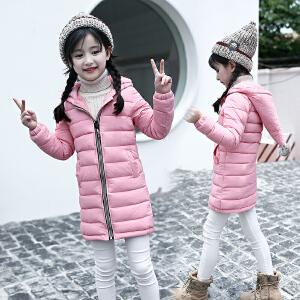 姗可诗格文儿童羽绒棉服轻薄款男童女童宝宝羽绒服中大童短款冬装外套