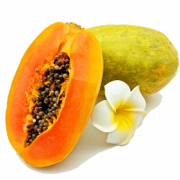 【包邮】海南青皮红心木瓜5斤装3-4个 新鲜热带水果