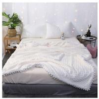 羊绒毛毯冬季双层加厚羊羔绒毯子珊瑚绒午休小毯子沙发毯