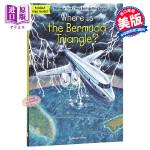 【中商原版】百慕大三角在哪里?英文原版 Where Is the Bermuda Triangle?