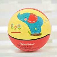 【当当自营】费雪FisherPrice 7寸儿童卡通加厚球防爆橡胶皮球宝宝充气篮球幼儿园玩具儿童玩具(送打气筒)大象F