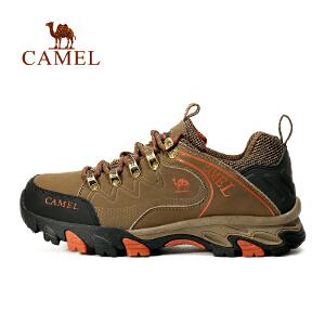 camel骆驼户外情侣徒步鞋 男女款防滑减震户外登山徒步鞋