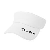帽子女夏天遮阳帽韩版时尚百搭太阳防晒帽潮遮脸运动网球鸭舌帽空顶帽