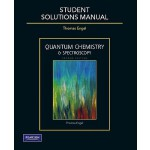【预订】Student Solutions Manual Quantum Chemistry & Spectrosco