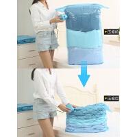 真空压缩棉被衣物衣服打包整理抽气收纳袋子立体特大号送电泵