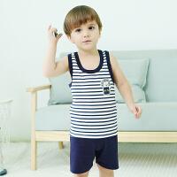 【专区99元任选5件】歌歌宝贝男童短袖套装夏纯棉两件套新款宝宝夏装1-3岁衣服