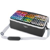 马克笔套装touch正品双头油性全套204色 学生用手绘服装设计美术绘画动漫专用画笔专业马克笔套装全色系168色