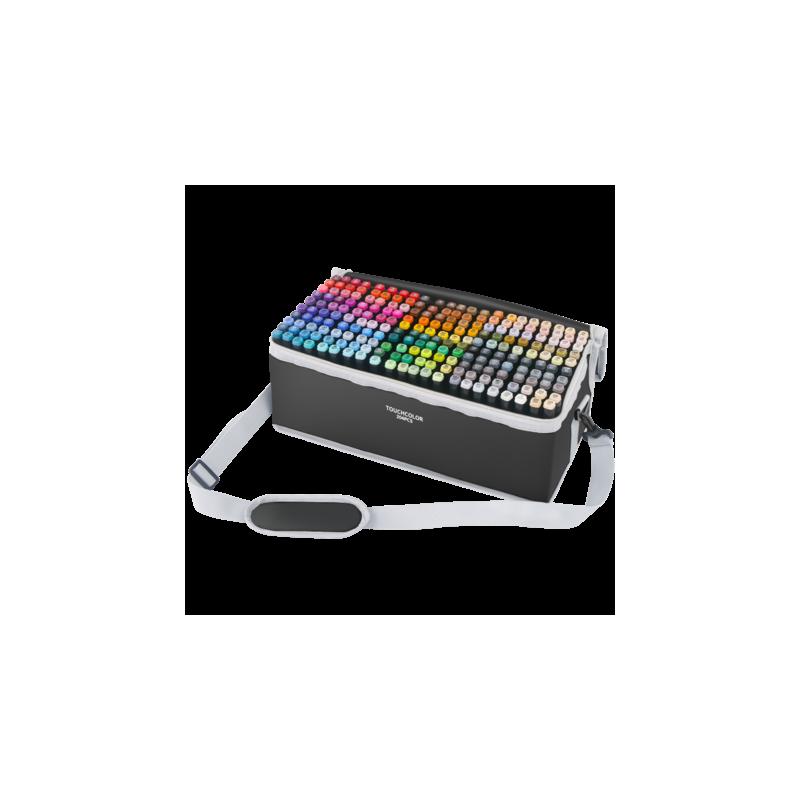 马克笔套装touch正品双头油性全套204色 学生用手绘服装设计美术绘画动漫专用画笔专业马克笔套装全色系168色 全套系列豪华套装