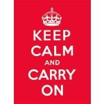 【预订】Keep Calm and Carry on: Good Advice for Hard Times 9780