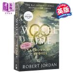 【中商原版】Wheel of Time #7:A Crown Of Swords 英文原版 英文小说 科幻小说 时光之