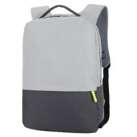 韩版新款简约双肩电脑包男女通用大容量书包休闲14寸