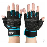 单杠引体向上器械训练长护腕 男士健身手套半指运动防滑耐磨