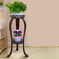 空大欧式多层绿萝吊兰铁艺花架客厅阳台室内外落地花架子