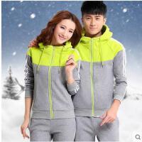 韩版休闲运动服女 新款情侣运动套装 男士卫衣套装