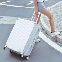 韩版行李箱女24寸拉杆箱万向轮28寸密码箱男26旅行箱包学生皮箱 28寸 贴纸+尘套+收纳袋