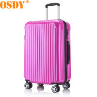 【可礼品卡支付】20寸 OSDY品牌 登机箱 旅行箱 行李箱 拉杆箱 A855-耐压抗摔ABS+PC材质 静音万向轮