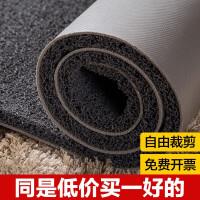 可裁剪丝圈地垫毯门口入户地垫塑料门垫进门pvc家用防水脚垫