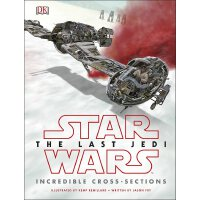 【现货】英文原版 Star Wars The Last Jedi (TM) Incredible Cross Sect