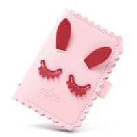 驾驶证卡包零钱包一体包女式小巧可爱证件位防消磁卡套卡夹萌