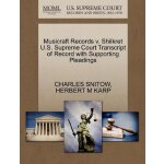 Musicraft Records v. Shilkret U.S. Supreme Court Tran******
