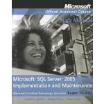 【预订】Microsoft SQL Server 2005 Implementation and Maintenanc