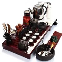 尚帝 紫砂茶具套装 实木茶博士-茶具烧水壶茶盘套装XMBH2014-022A1