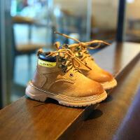 儿童马丁靴1-2-3岁男女童秋冬款擦色复古经典短靴侧拉链宝宝鞋