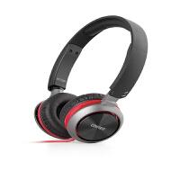 EDIFIER漫步者 K710P耳机头戴式电脑游戏手机耳麦酷黑红