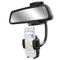 GXI 苹果iPhone 7/6S plus汽车后视镜导航支架 三星 华为车载车用手机支架 创意座通用导航支架 通用手