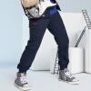 【书香节每满200减100】小猪班纳童装男童春装新款运动裤 儿童秋季休闲裤子纯棉长裤