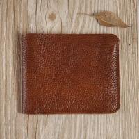 男士钱包软皮短款小钱包简约折叠横款皮皮夹子潮款原宿