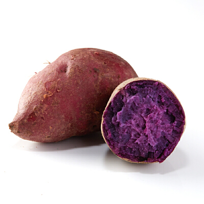 【包邮】越南珍珠紫薯5斤装 单果50-150g粉糯香甜 口感细腻 现挖现发