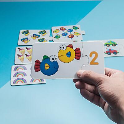 小乖蛋 加减法拼图 儿童数学游戏数字加减法益智亲子互动趣味玩具