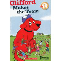 Clifford Makes The Team (Level 1)学乐分级读物1:大红狗建球队ISBN9780545231411