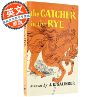 【包邮】麦田里的守望者 英文原版 The Catcher in the Rye 进口小说 J.D.塞林格 国外中学高校指定读物 小开本平装 Paperback