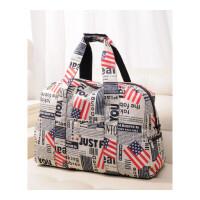 大容量多功能折叠尼龙旅行包女 手提短途行李包旅游运动健身包袋