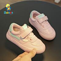 【2.5折价:62.5】芭芭鸭女童鞋棉鞋2018冬季新款男童冬鞋加绒毛毛鞋二棉鞋韩版鞋子